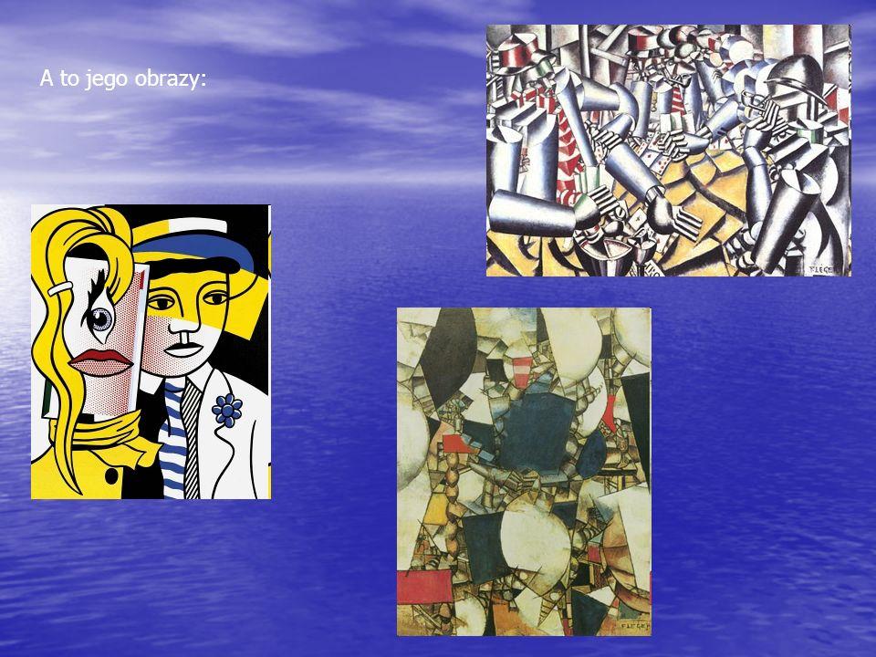 A to jego obrazy: