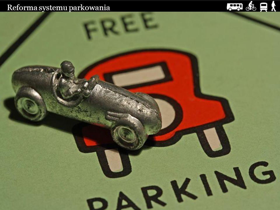 Reforma systemu parkowania