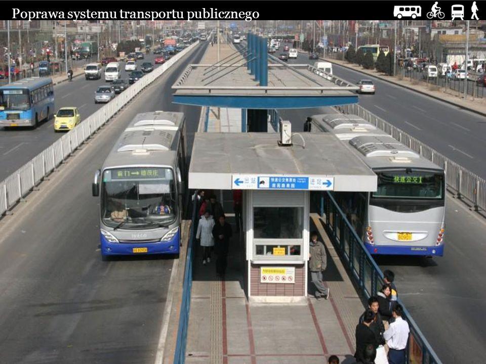Poprawa systemu transportu publicznego