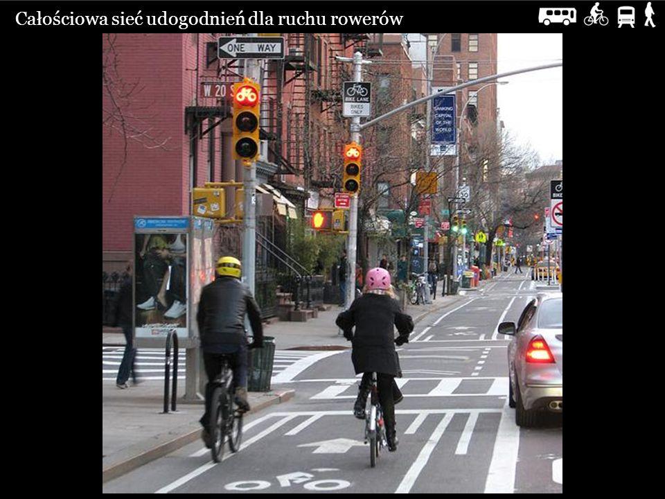 Całościowa sieć udogodnień dla ruchu rowerów