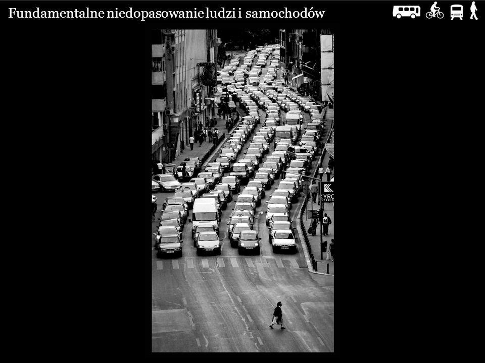 Fundamentalne niedopasowanie ludzi i samochodów
