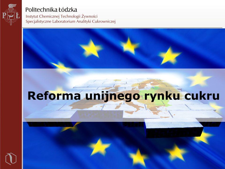 Reforma unijnego rynku cukru