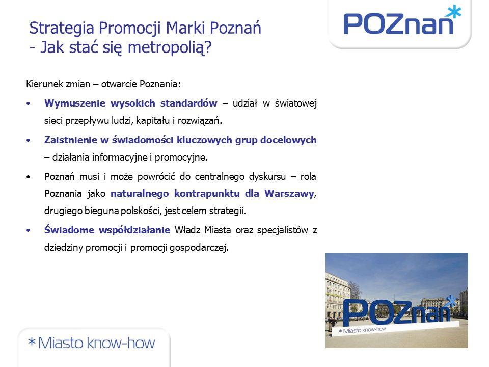 Strategia Promocji Marki Poznań - Jak stać się metropolią.
