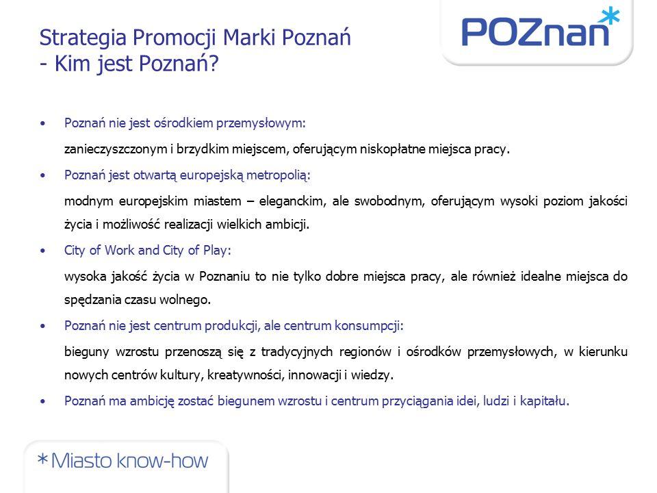 Strategia Promocji Marki Poznań - Kim jest Poznań.