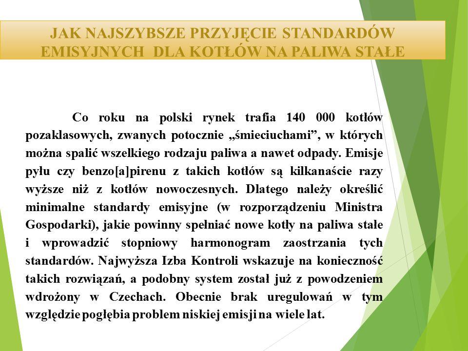 """Co roku na polski rynek trafia 140 000 kotłów pozaklasowych, zwanych potocznie """"śmieciuchami"""", w których można spalić wszelkiego rodzaju paliwa a nawe"""