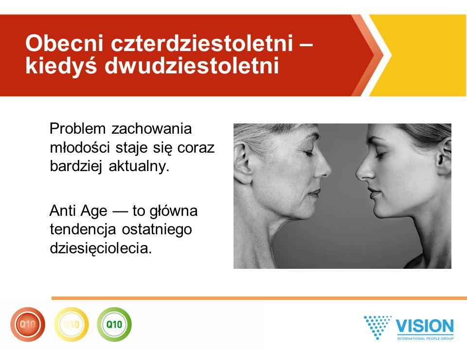 Problem zachowania młodości staje się coraz bardziej aktualny. Anti Age — to główna tendencja ostatniego dziesięciolecia. Obecni czterdziestoletni – k