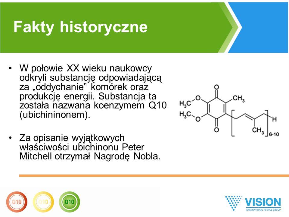 """W połowie XX wieku naukowcy odkryli substancję odpowiadającą za """"oddychanie"""" komórek oraz produkcję energii. Substancja ta została nazwana koenzymem Q"""