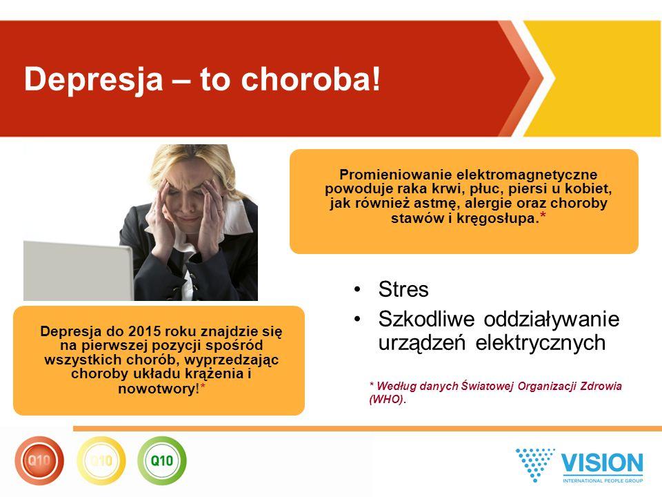 Stres Szkodliwe oddziaływanie urządzeń elektrycznych Promieniowanie elektromagnetyczne powoduje raka krwi, płuc, piersi u kobiet, jak również astmę, a