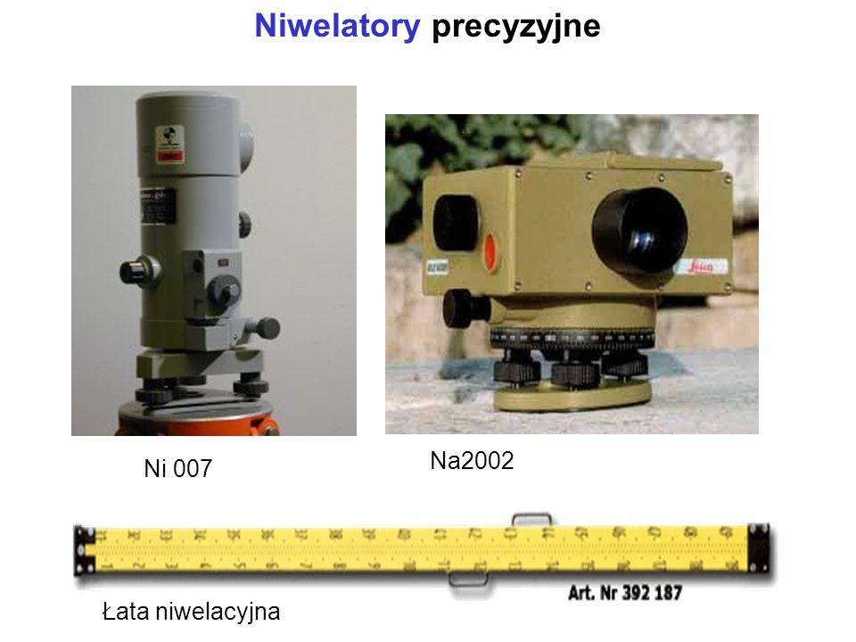 Niwelatory precyzyjne Łata niwelacyjna Ni 007 Na2002