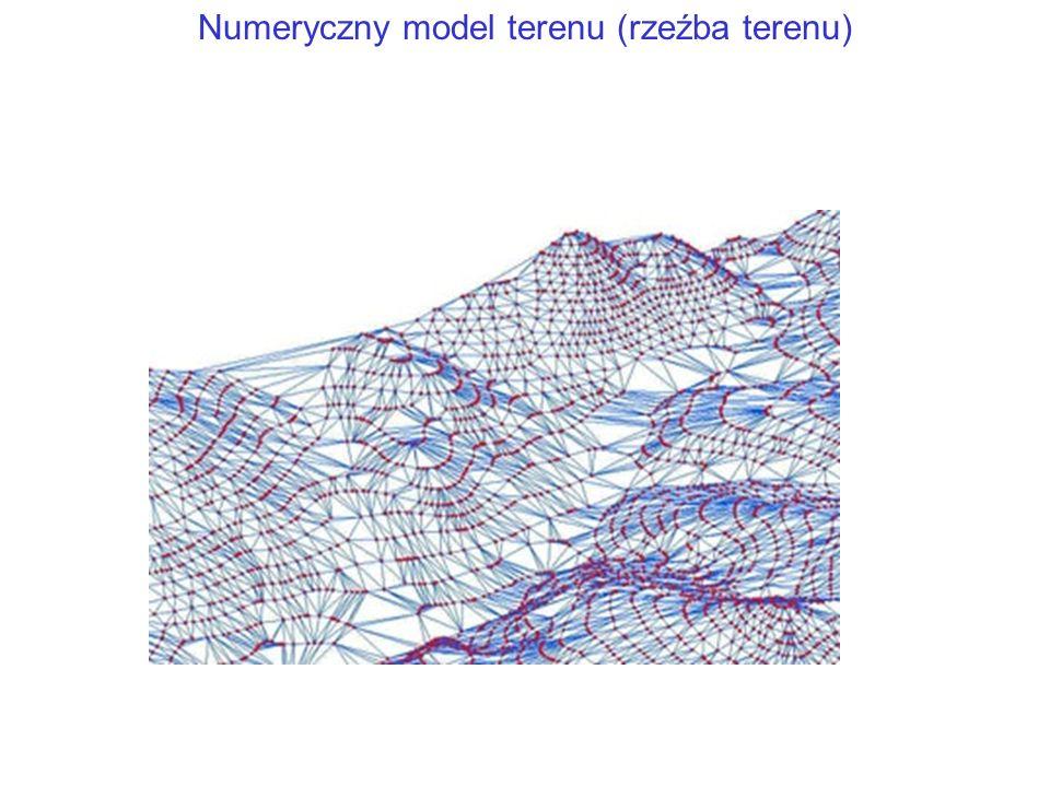 Numeryczny model terenu (rzeźba terenu)