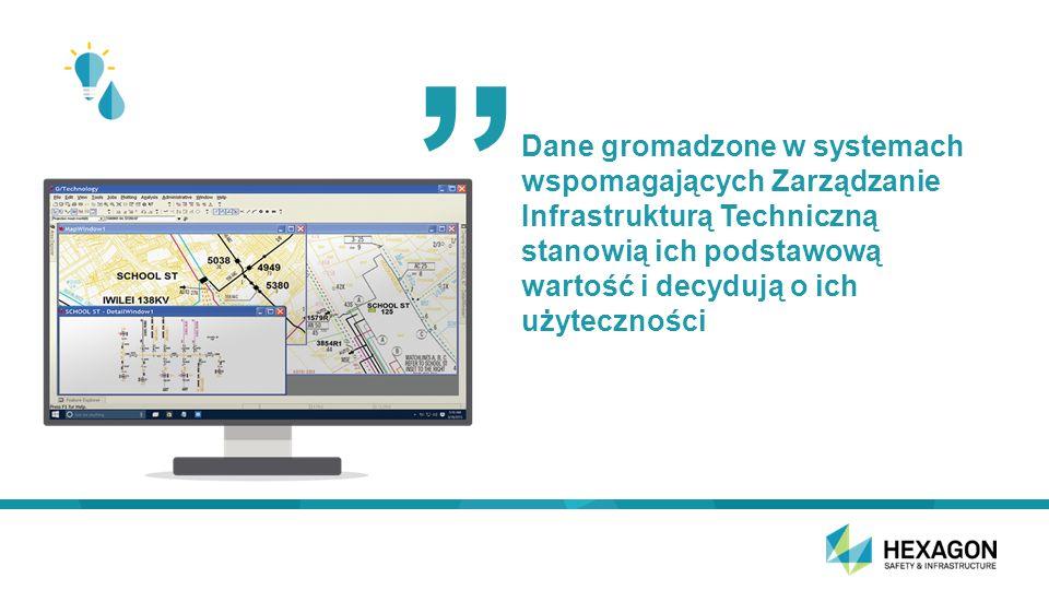 Dane gromadzone w systemach wspomagających Zarządzanie Infrastrukturą Techniczną stanowią ich podstawową wartość i decydują o ich użyteczności