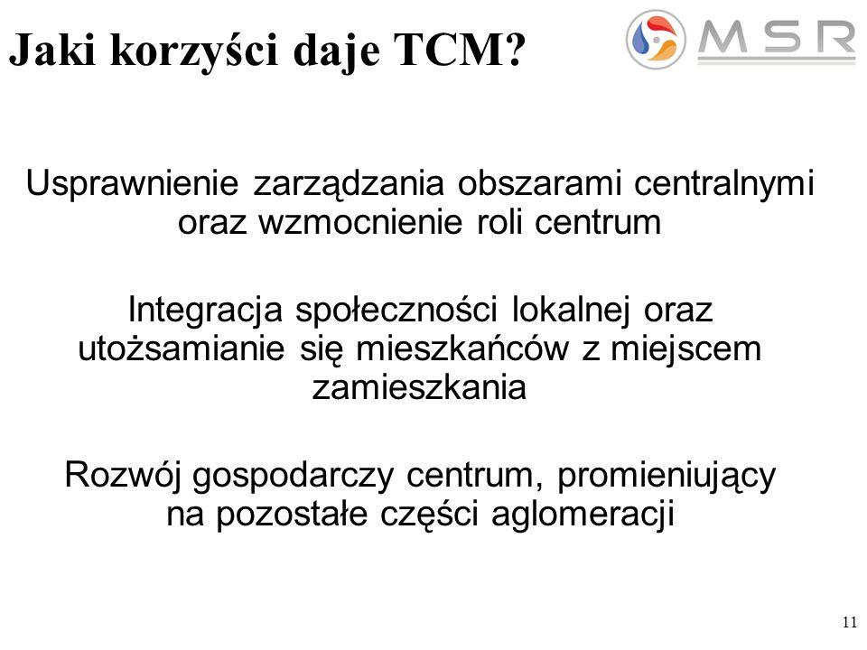 11 Jaki korzyści daje TCM.