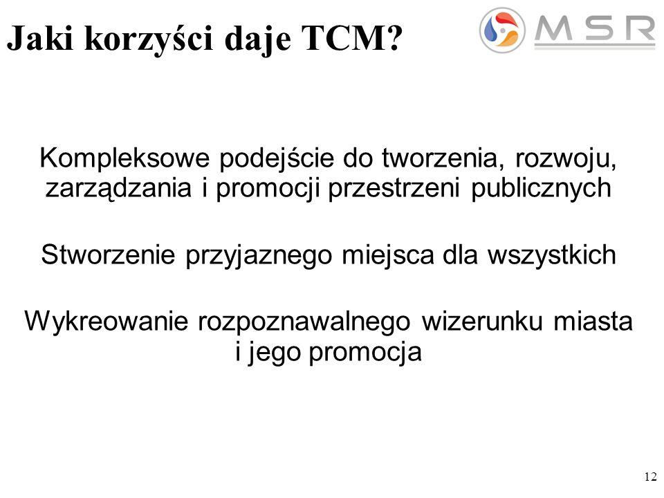 12 Jaki korzyści daje TCM.