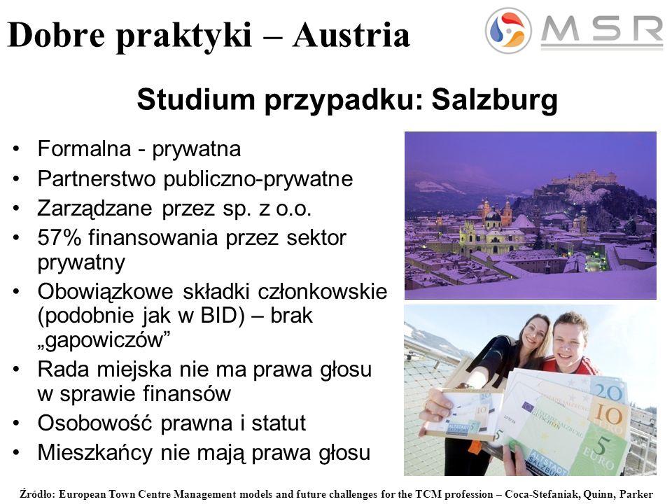 Formalna - prywatna Partnerstwo publiczno-prywatne Zarządzane przez sp.