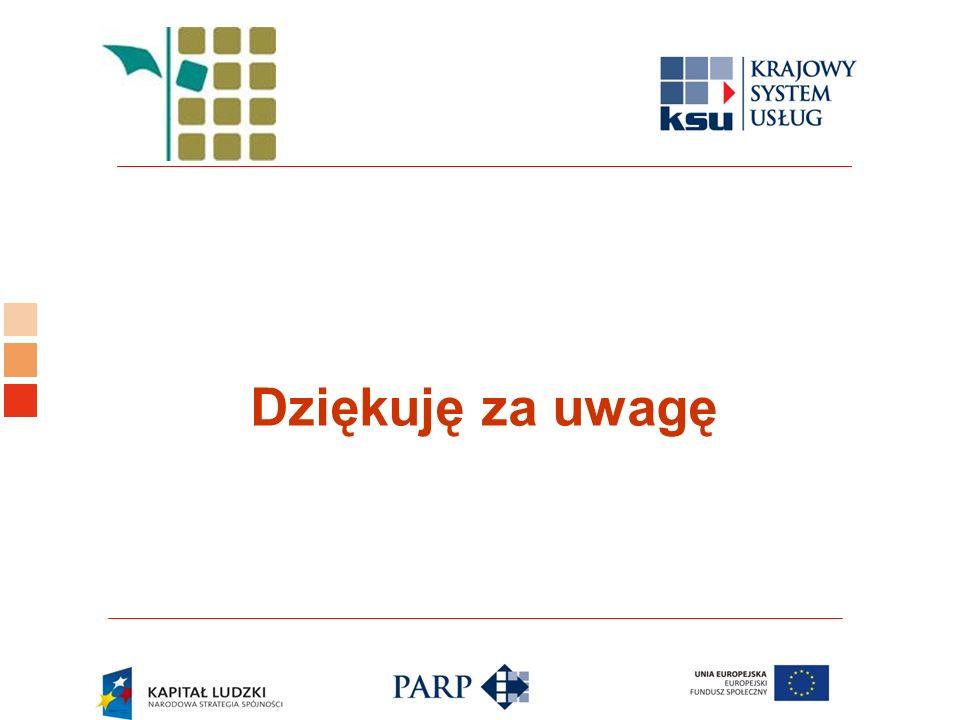 Logo ośrodka KSU Dziękuję za uwagę