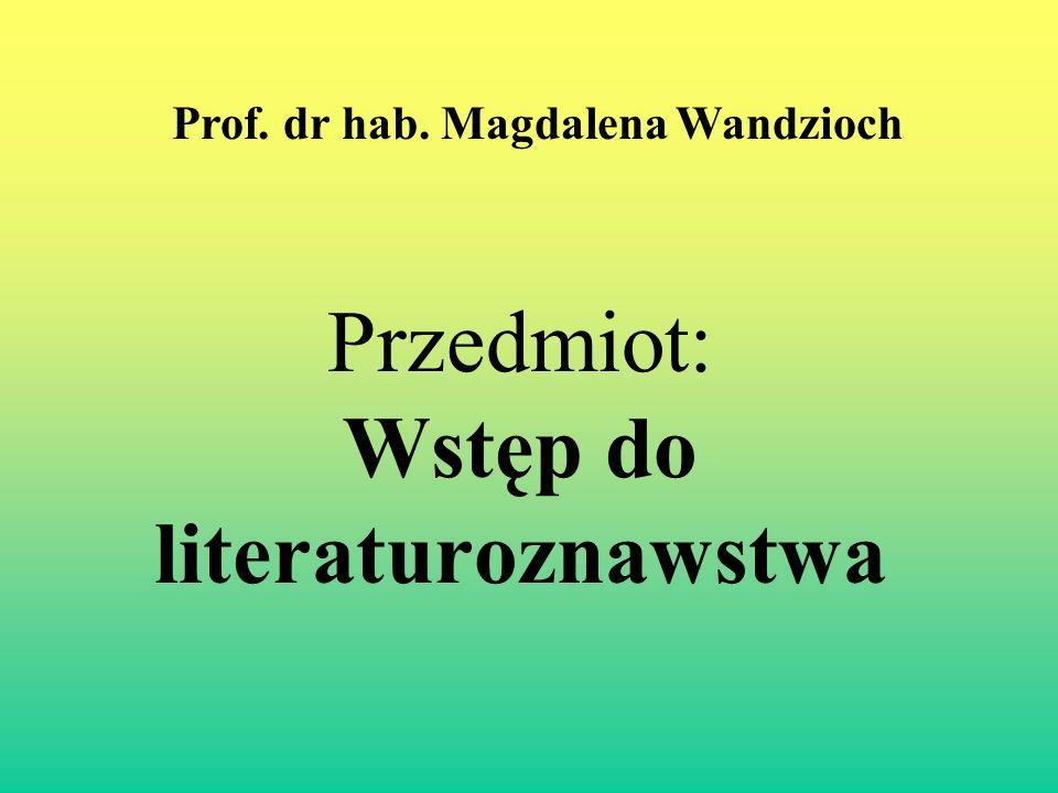 II.Paratekst - Przedmowa. Dlaczego czytać .
