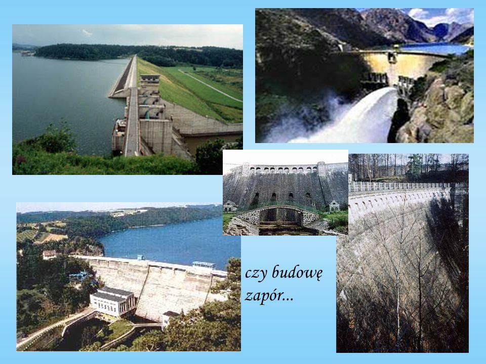 Cywilizacje starożytne powstawały tam, gdzie warunki naturalne gwarantowały dostatek wody, ale również w miejscach, które wymagały konstrukcji sztucznych zbiorników i zapór, kanałów irygacyjnych czy akweduktów.