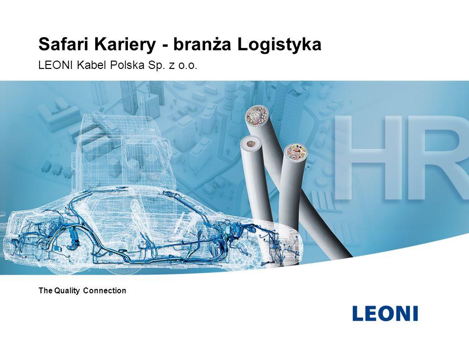 LEONI globalny lider Założona w 1917 roku firma LEONI jest obecnie jedną z wiodących spółek zajmujących się technologią okablowania w Europie.