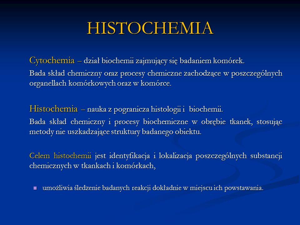 IDENTYFIKACJA BIAŁEK Wynik barwienia: amyloid – wszystkie typy amyloidu barwią się na kolor czerwony amyloidoza serca amyloidoza nerek Amyloid - kwasochłonne, nierozpuszczalne, nieaktywne biologicznie białko, którego nieprawidłowe pozakomórkowe odkładanie się w narządach (nerkach, wątrobie, mózgu) prowadzi do amyloidozy (skrobiawicy).