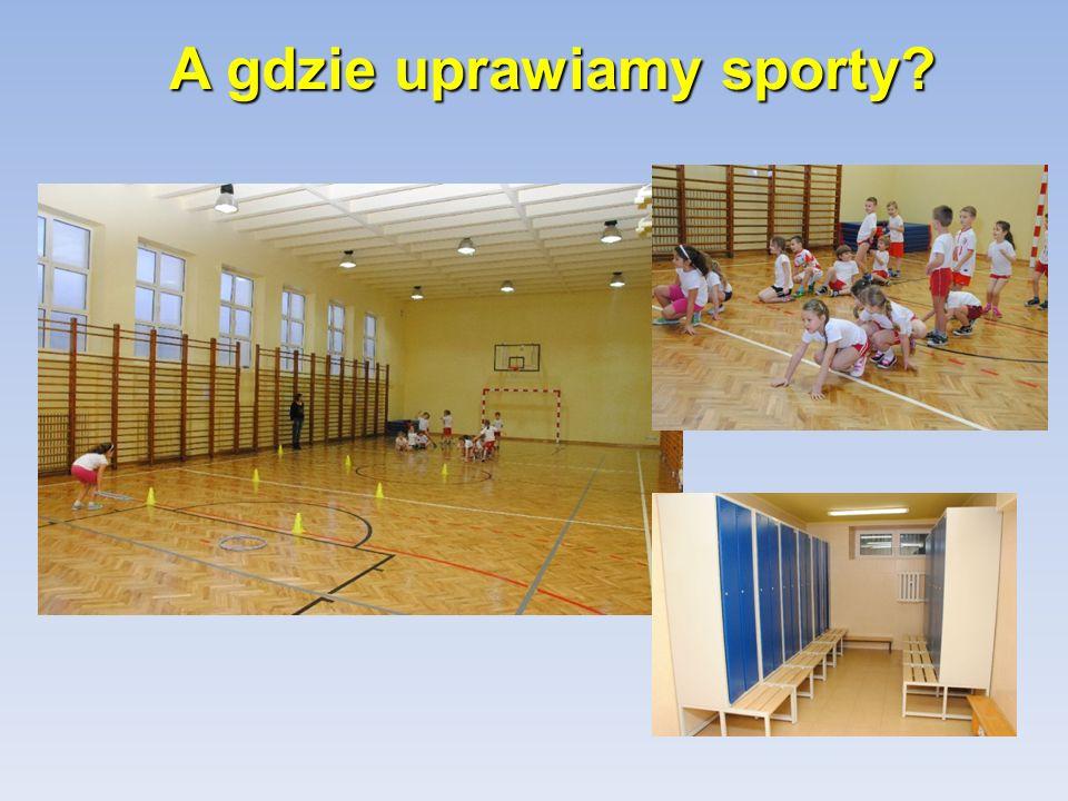 A gdzie uprawiamy sporty