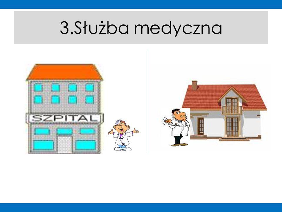 """W ty miejscu będzie mapa Poznania z zaznaczonymi punktami """"Służby medyczne http://g.co/maps/t9zuk 3.Służba medyczna"""