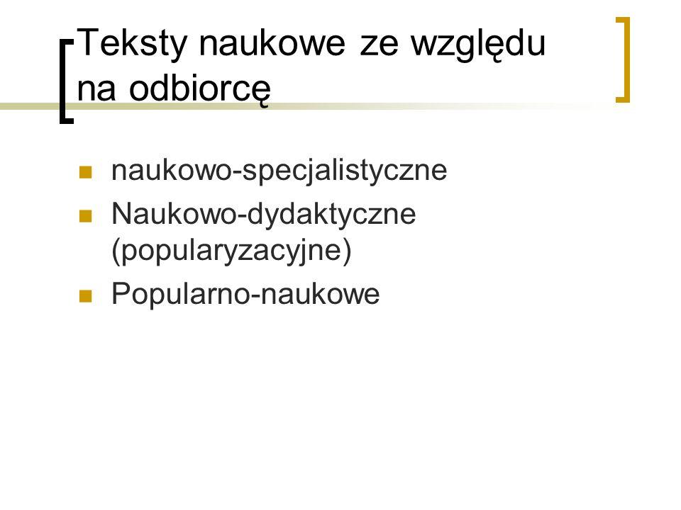 Tłumaczenie terminów - wskazówki 1) Tłumacz powinien znać najnowsze pracy z danej dziedziny w języku przekładu.