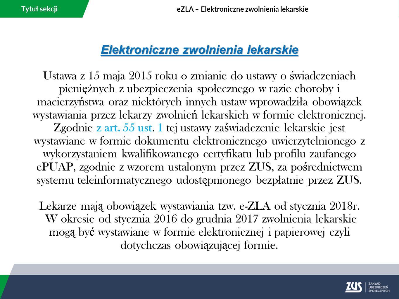 Tytuł sekcji Zmiany w podstawie wymiaru składek – umowy zlecenia.