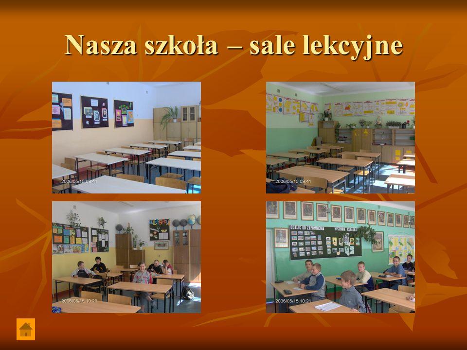 Nasza szkoła – sale lekcyjne