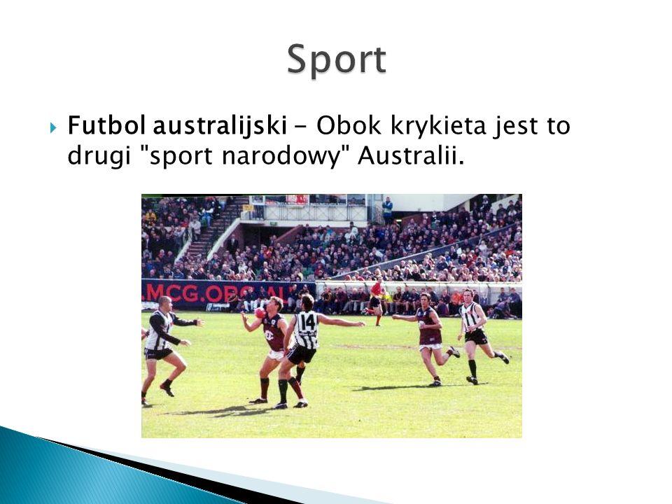  Futbol australijski - Obok krykieta jest to drugi