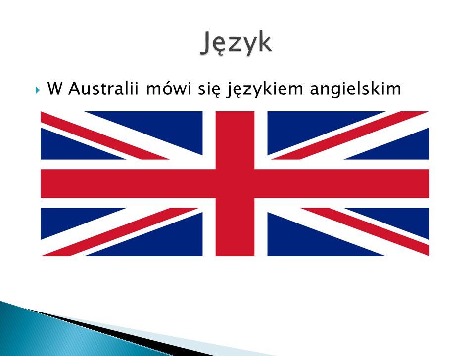  W Australii mówi się językiem angielskim