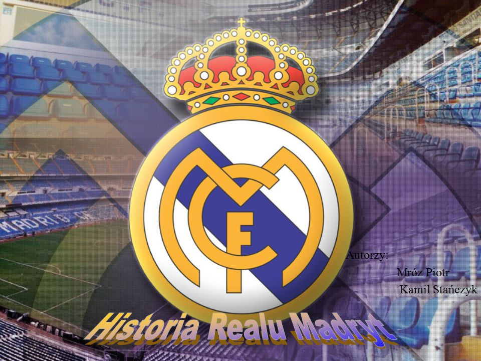1.Real Madryt 2.Ewolucja herbu 3.Stadion Estadio Santiago Bernabéu 4.Himno del Real Madrid 5.Kibice 6.Skład na sezon 2009/2010 7.Real vs Barcelona 8.Niespodzianka