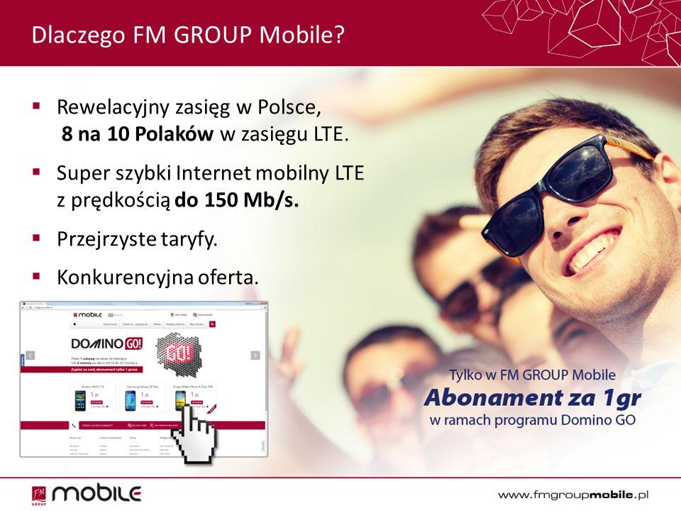 Dlaczego FM GROUP Mobile.  Rewelacyjny zasięg w Polsce, 8 na 10 Polaków w zasięgu LTE.