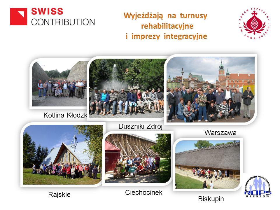 Kotlina Kłodzka Duszniki Zdrój Warszawa Rajskie Ciechocinek Biskupin