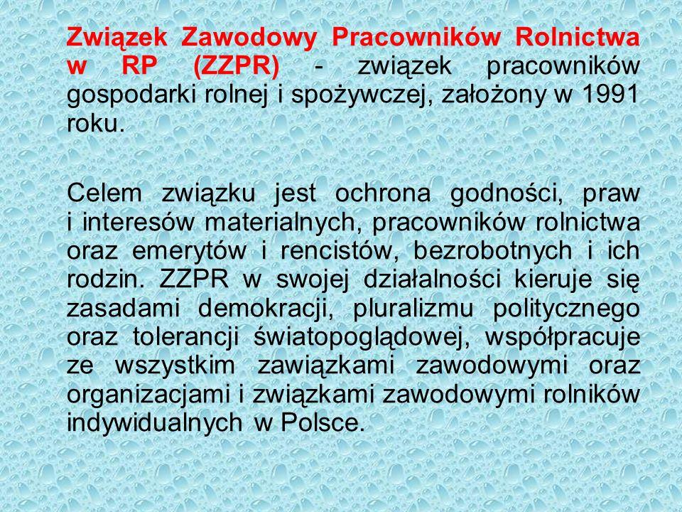 Związek Zawodowy Pracowników Rolnictwa w RP (ZZPR) - związek pracowników gospodarki rolnej i spożywczej, założony w 1991 roku.