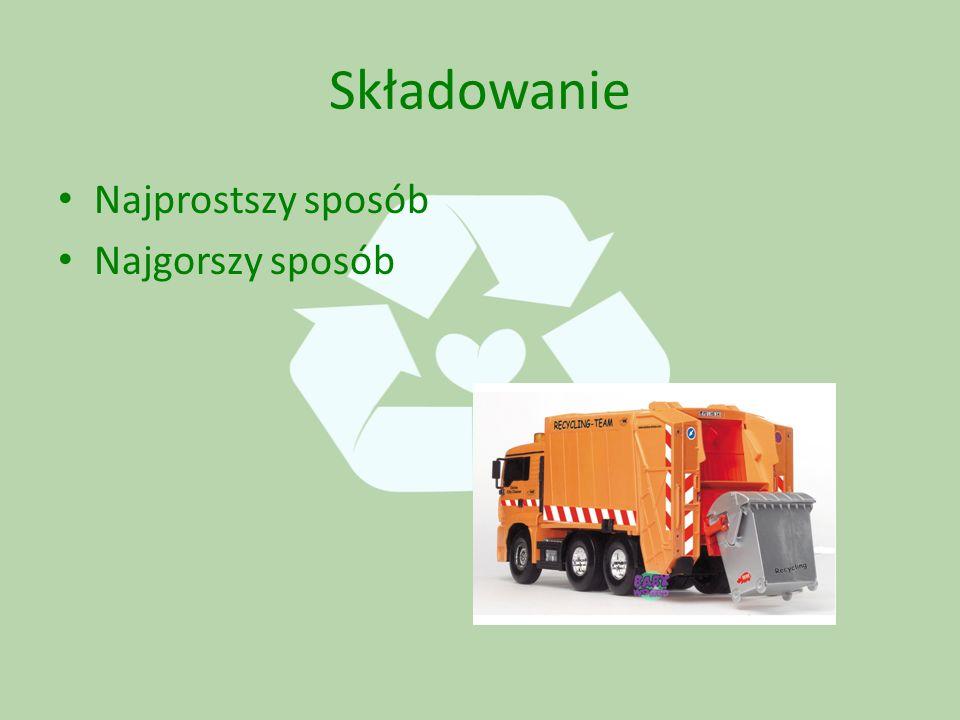 Następnie z surowców uzyskanych z recyklingu produkuje się nowe rzeczy.