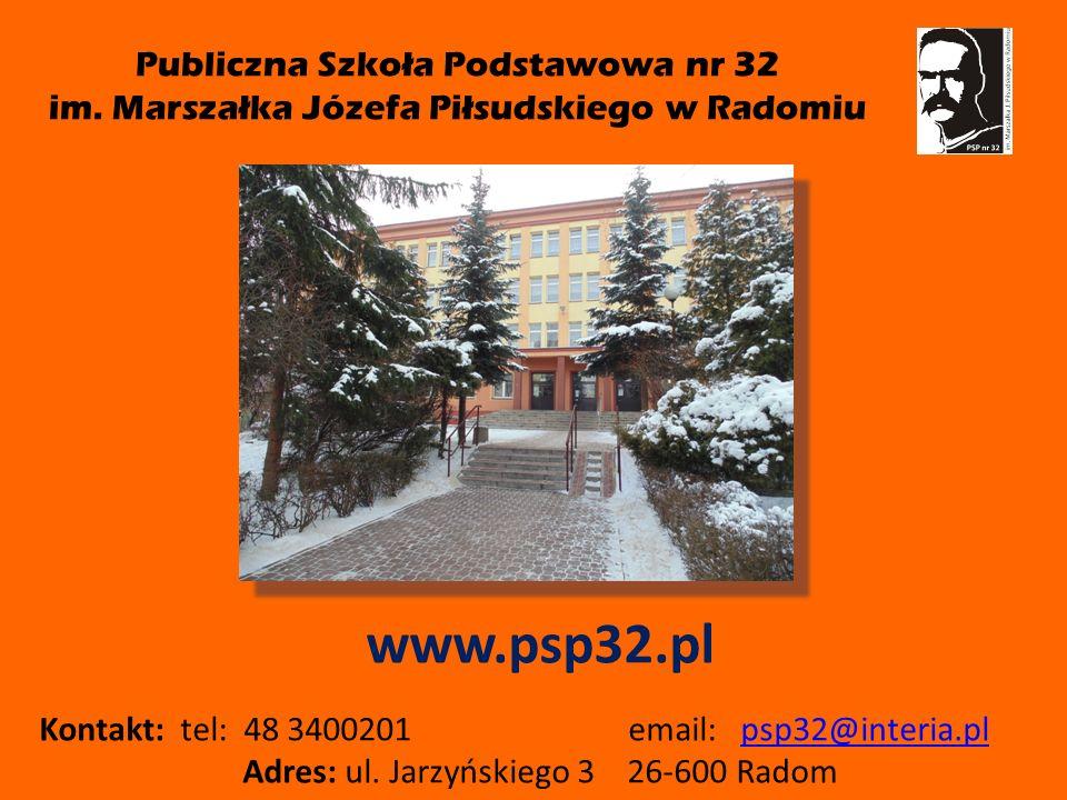 Publiczna Szkoła Podstawowa nr 32 im.
