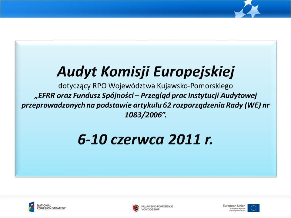Zestawienie projektów kluczowych dla których zostaną złożone wnioski o dofinansowanie Lp.Nazwa projektu Przewidywana data złożenia wniosku Poziom dofinansowania z EFRR z Wykazu* 1 Poprawa bezpieczeństwa na drogach publicznych poprzez wybudowanie dróg rowerowych Dla II Etapu - 30-04-2012, dla III Etapu - 31-08-2012 9 686 071,05 Toruń – Unisław – Beneficjent złożył wniosek o przyznanie dofinansowania Toruń - Chełmża 2 Zintegrowany projekt inwestycyjny rozwoju funkcji usługowych portu lotniczego w Bydgoszczy w ramach węzła komunikacyjnego aglomeracji bydgosko- toruńskiej 31-12-2011 (III Podetap)31 445 380,00 3 Zagospodarowanie infrastruktury kolejowej dla potrzeb ruchu turystycznego – linia kolejowa nr 209 od Torunia do Brodnicy 30-03-2010 (I etap), 30-10- 2012 (II etap) 4 224 750 4 Obejście miasta Nakło na kierunku Pd-Pn w ciągu drogi wojewódzkiej nr 241 (Rogoźno - Tuchola).