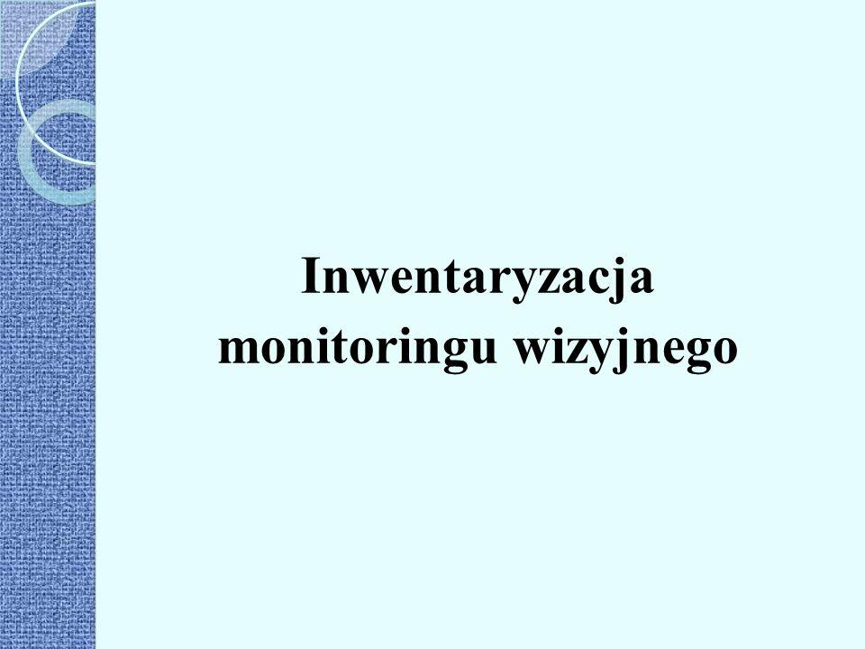 Inwentaryzacja monitoringu wizyjnego