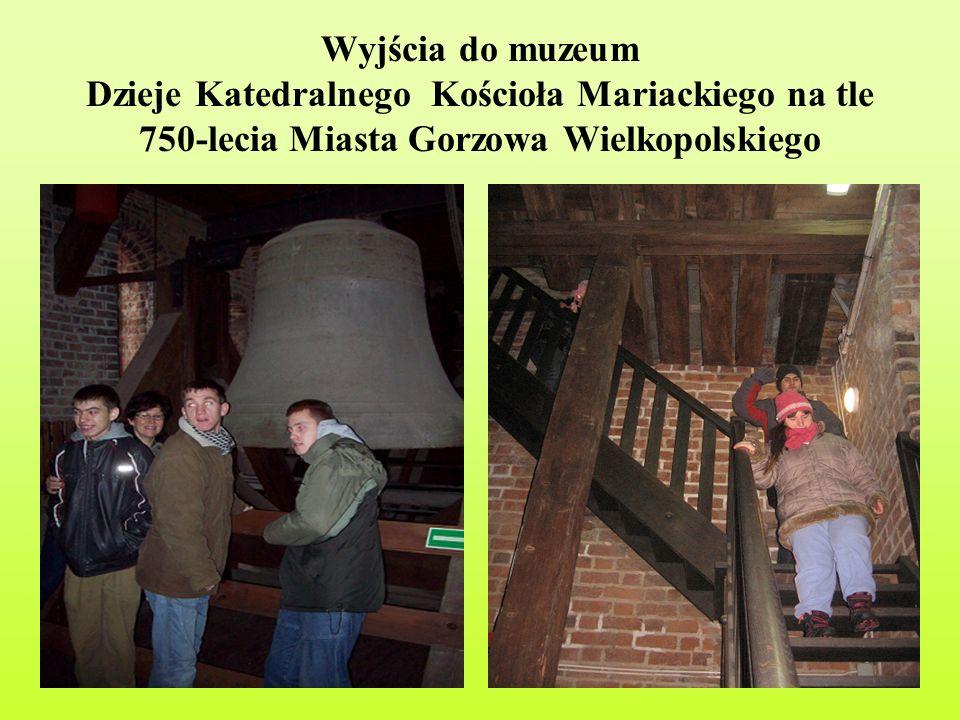 Wyjścia do muzeum Dzieje Katedralnego Kościoła Mariackiego na tle 750-lecia Miasta Gorzowa Wielkopolskiego
