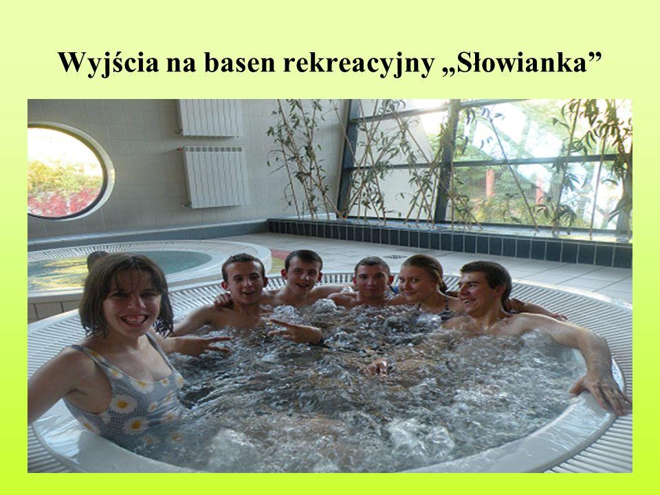 """Wyjścia na basen rekreacyjny """"Słowianka"""