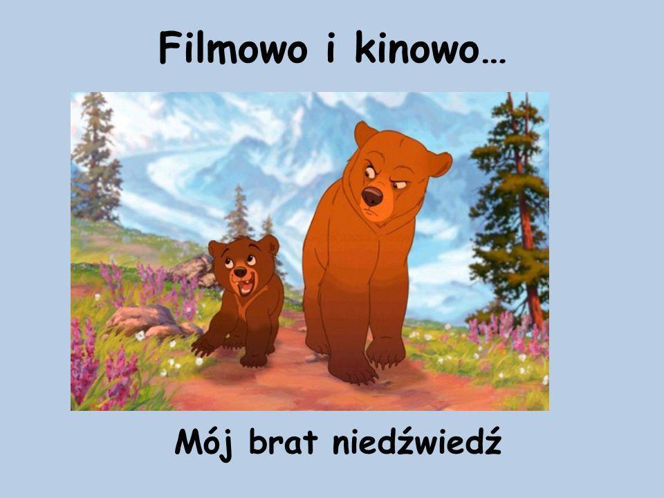 Filmowo i kinowo… Mój brat niedźwiedź