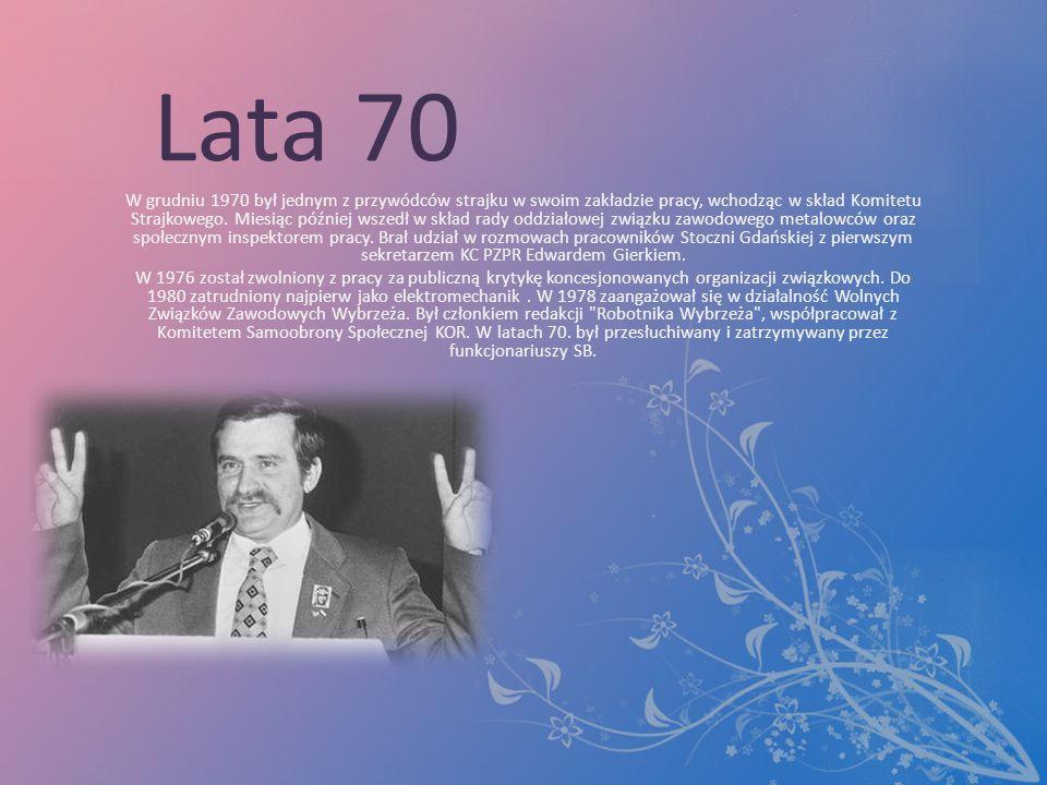 Lata 70 W grudniu 1970 był jednym z przywódców strajku w swoim zakładzie pracy, wchodząc w skład Komitetu Strajkowego.