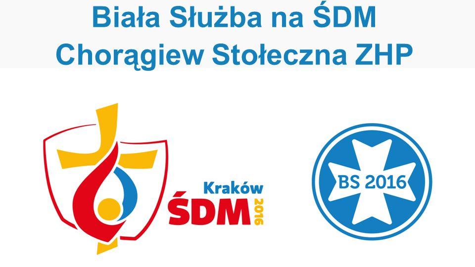 Biała Służba na ŚDM Chorągiew Stołeczna ZHP