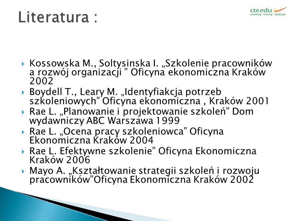  Kossowska M., Soltysinska I.