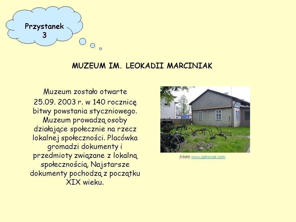 Muzeum zostało otwarte 25.09. 2003 r. w 140 rocznicę bitwy powstania styczniowego. Muzeum prowadzą osoby działające społecznie na rzecz lokalnej społe