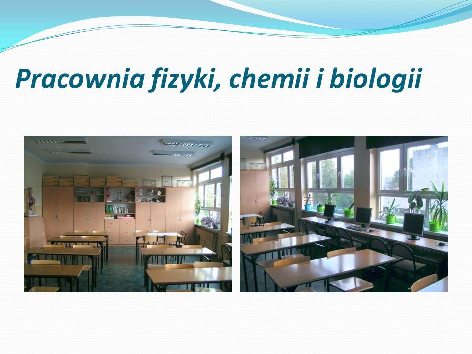 Pracownia fizyki, chemii i biologii