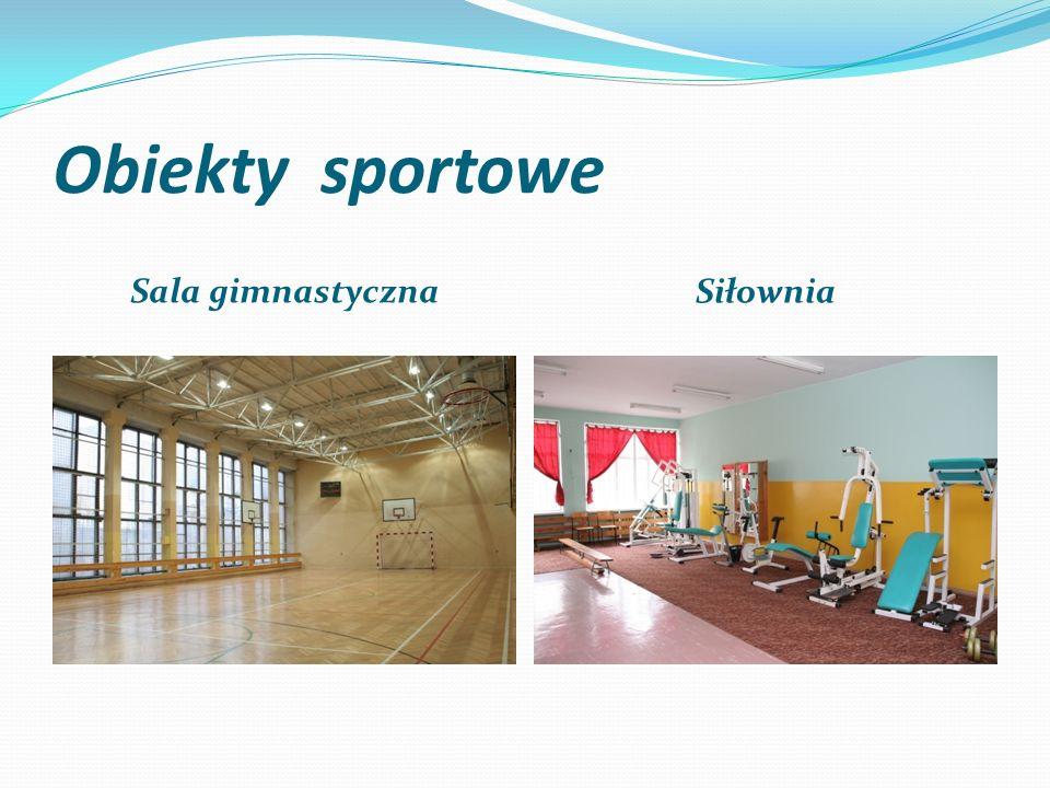 Obiekty sportowe Sala gimnastyczna Siłownia