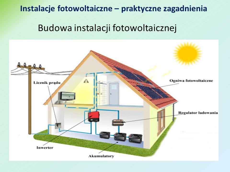 Budowa instalacji fotowoltaicznej Instalacje fotowoltaiczne – praktyczne zagadnienia