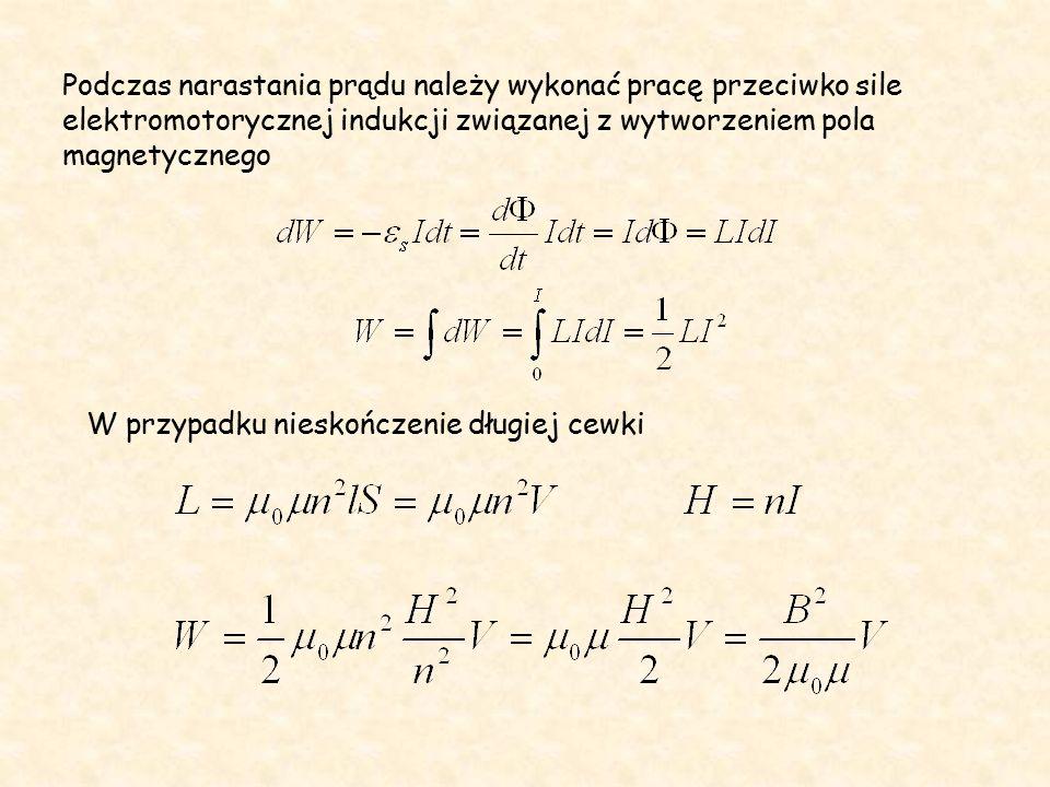 Prądy wirowe powstające w przewodach, w których płynie prąd zmienny skierowane są tak, że osłabiają prąd wewnątrz przewodu a wzmacniają go w pobliżu powierzchni – prąd szybkozmienny wykazuje nierównomierny rozkład w przekroju przewodnika Zjawisko naskórkowości W przypadku wysokich częstotliwości przewodniki mogą mieć kształt rurek.