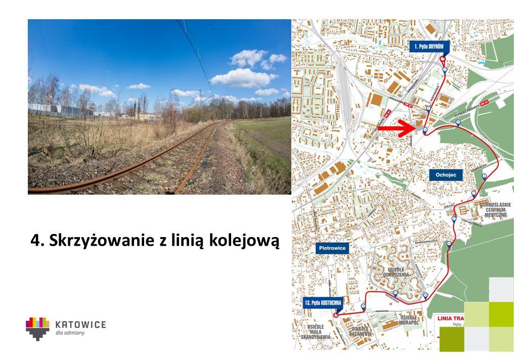 4. Skrzyżowanie z linią kolejową
